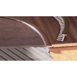 Dilatačný profil do oblúkov laminovaný D17 PL ALU 2,5m