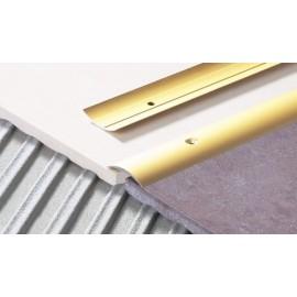 Prechodová lišta oválna široká 40 mm