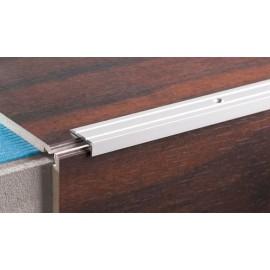 Schodový profil úzky 10mm ALU Leštený