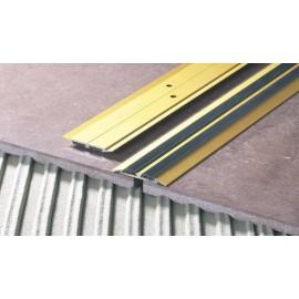 Prechodová lišta ploská široká s gumou 45 mm